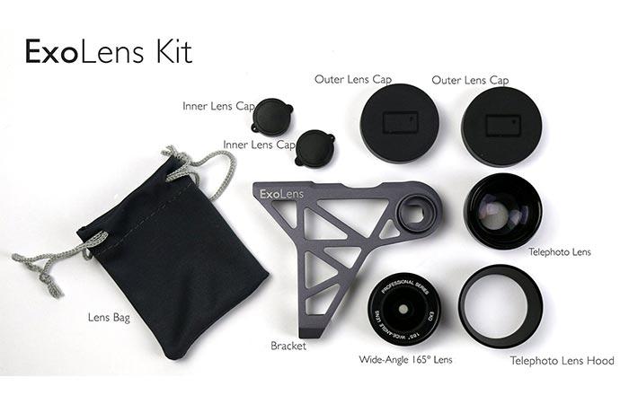 ExoLens components