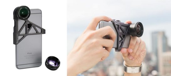 ExoLens   Wide Angle & Telephoto Lens For Galaxy And Iphone