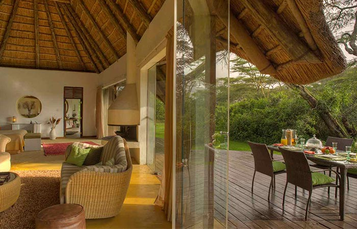 The Safari Collection Solio Lodge Room