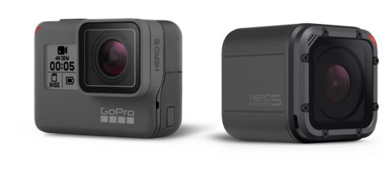 GoPro Hero5 Black and Session | Waterproof Cameras With GPS