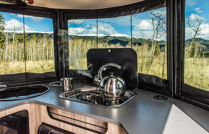Airstream Basecamp Kitchen