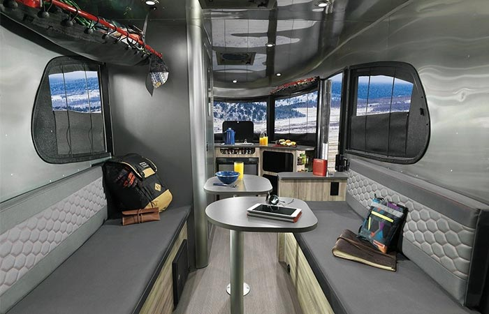 Airstream Basecamp Interior