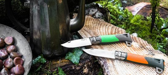 NEW! Opinel No. 12 Explore | A Survival Knife, Firesteel, Whistle And Gut-hook