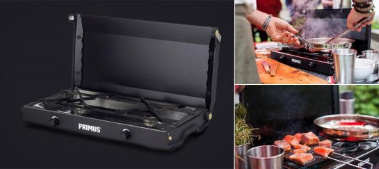 Primus Kinjia Stove | Portable Two-Burner Gas Stove