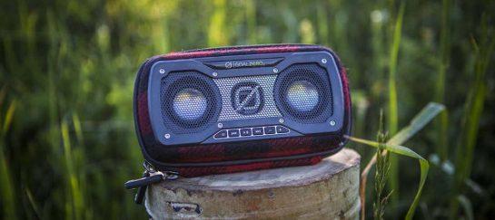 Rock Out 2 | Goal Zero X Woolrich Portable Bluetooth Speaker