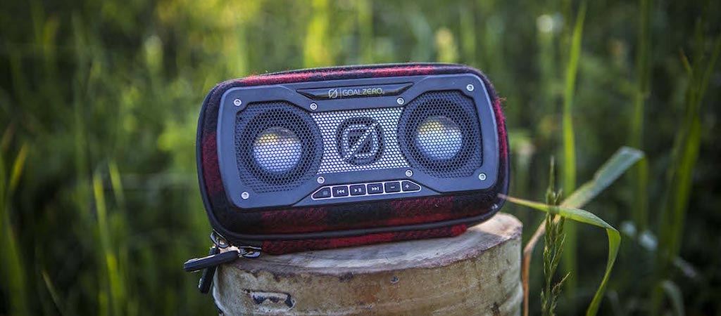 Rock Out 2 | Goal Zero X Woolrich Portable Bluetooth Speaker