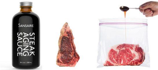 Sansaire Steak Aging Sauce