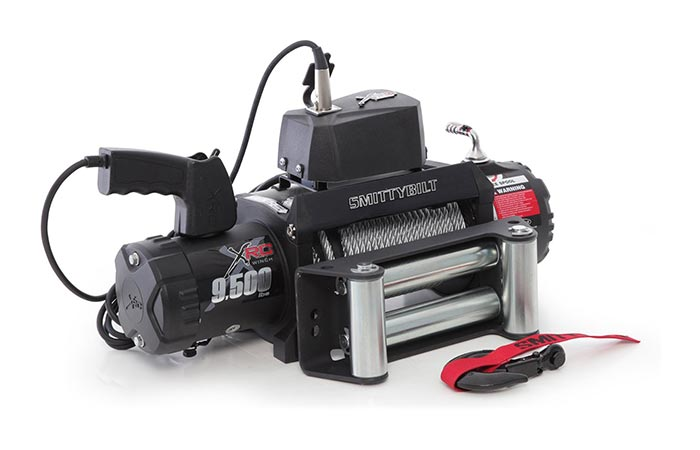 Smittybilt XRC winch by itself