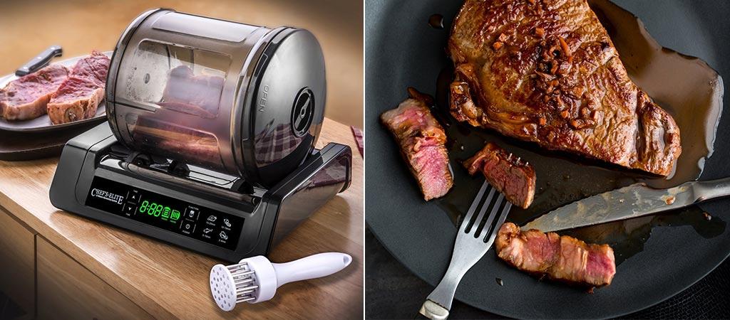 Stx Chef's Elite 15 Minute Meat & Vegetable Vacuum Marinator