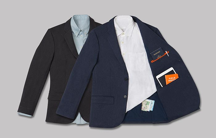 The two different colors of The Blazer by Bluffworks