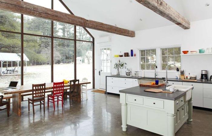 The Floating Farmhouse Kitchen