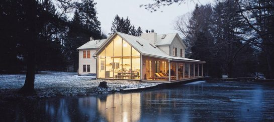 The Floating Farmhouse In The Catskill Mountains