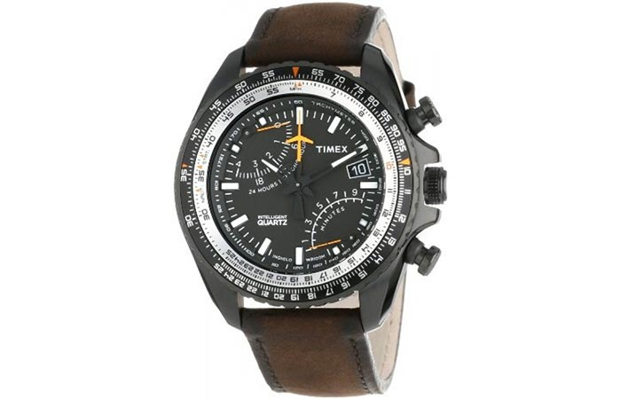 Timex Aviator Chronograph front view