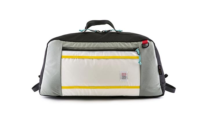 Grey Topo Designs Mountain Duffel