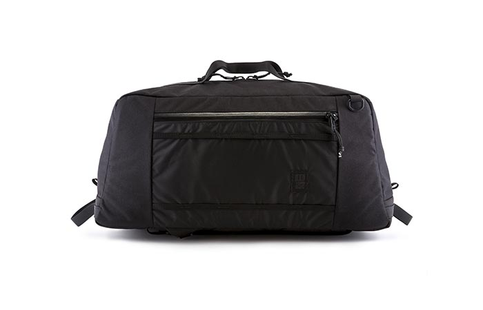 Black Topo Designs Mountain Duffel