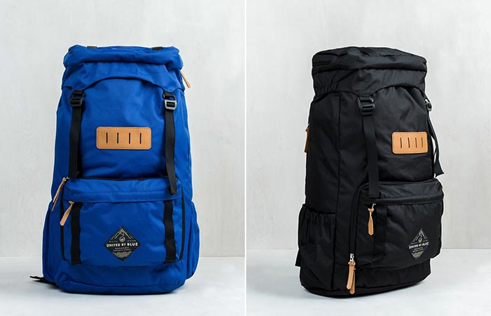 Blue and Black United By Blue 45L Range Daypack