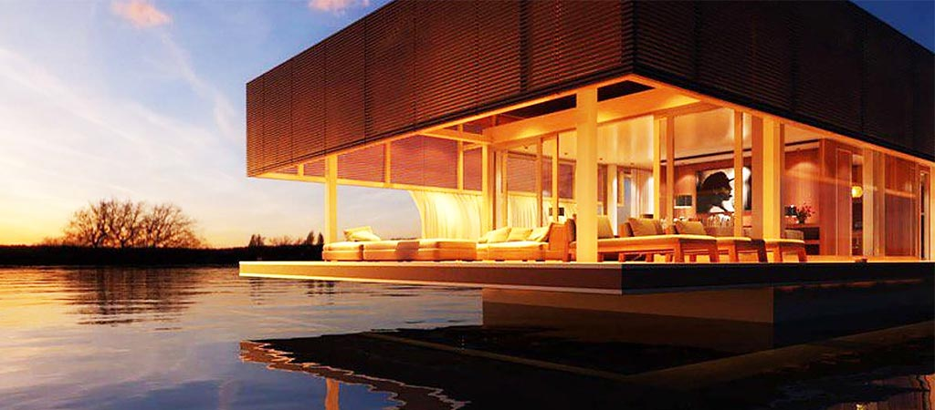 Waterlovt | A Luxurious House On The Water