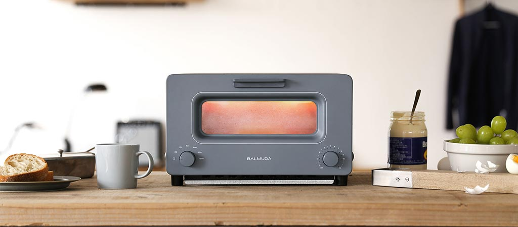 Balmuda Toaster Uses Steam To Provide A Freshly Baked Taste