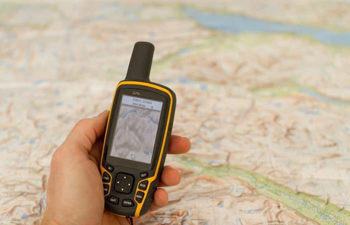 GPS And A Map
