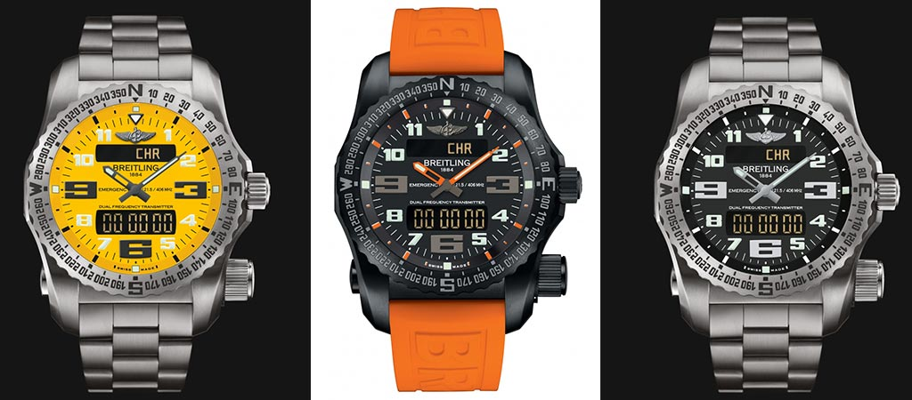 Breitling Emergency Watch Collection
