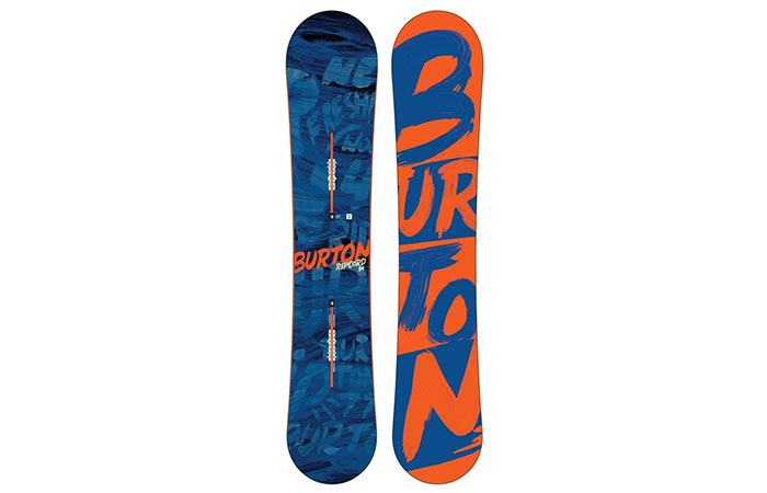 Top and bottom view of the Burton Ripcord 2016