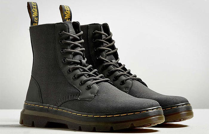 A Pair Of Dr. Martens Combs Nylon Boots