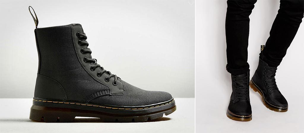 Dr Martens Combs Nylon Boots Jebiga Design Amp Lifestyle
