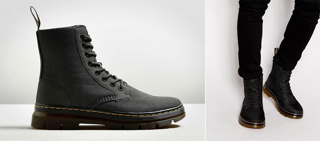 Dr. Martens Combs Nylon Boots
