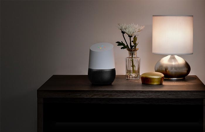 Google Home With The Black Bottom Part