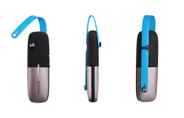 goTenna Mesh front, side and back view