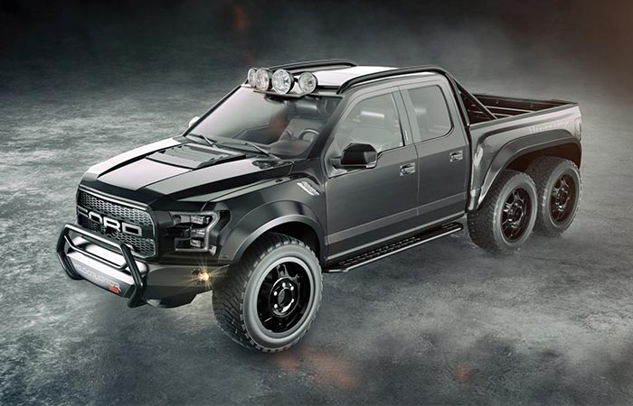 Hennessey Velociraptor Black side view