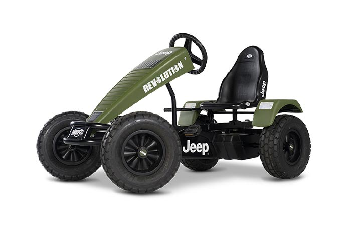 Side view of the Jeep Revolution BFR-3