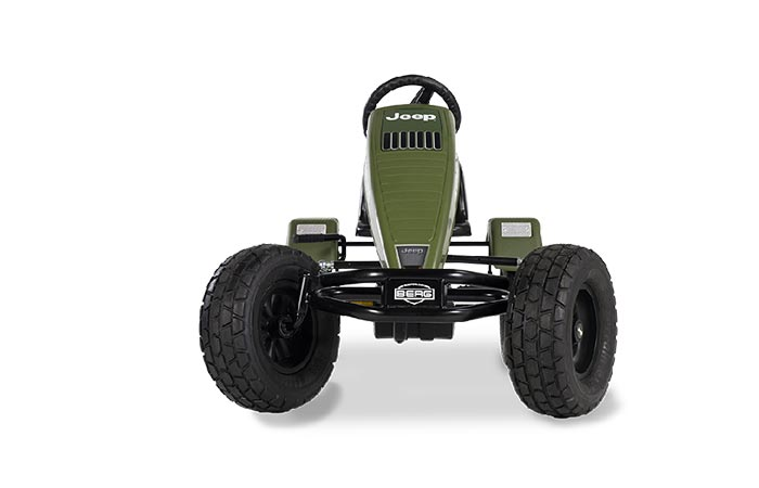 Front view of the Jeep Revolution BFR-3