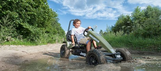 Jeep Revolution BFR-3 | Off-Roading Kids Pedal Go-Kart