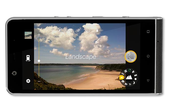 Kodak Ektra view of the screen and DSLR option