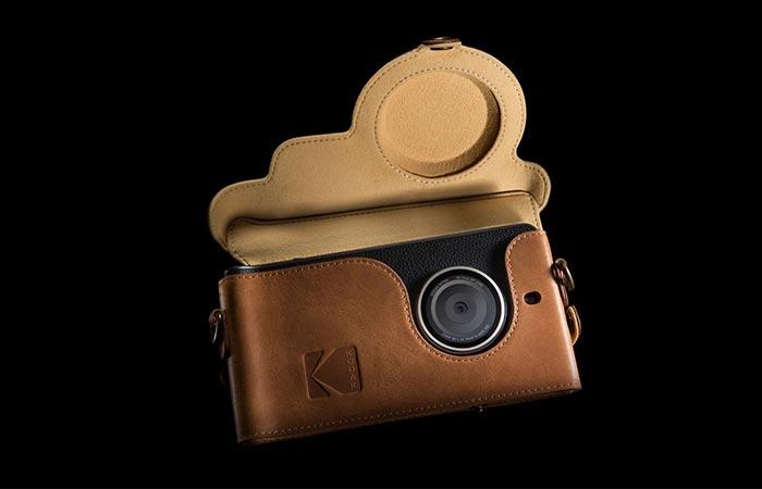 Kodak Ektra in it's carry case
