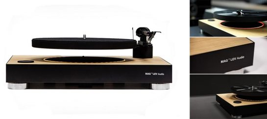 Mag-Lev Audio | World's First Levitating Turntable