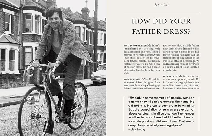 A Page From Men And Style: Essays, Interviews, And Considerations