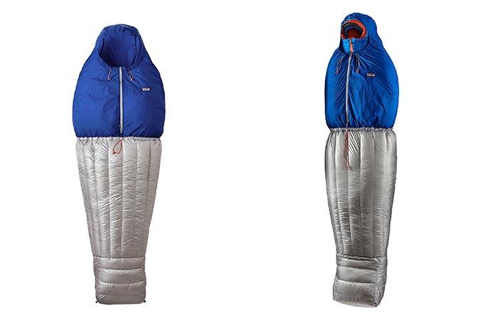 Patagonia Hybrid Sleeping Bag Standing
