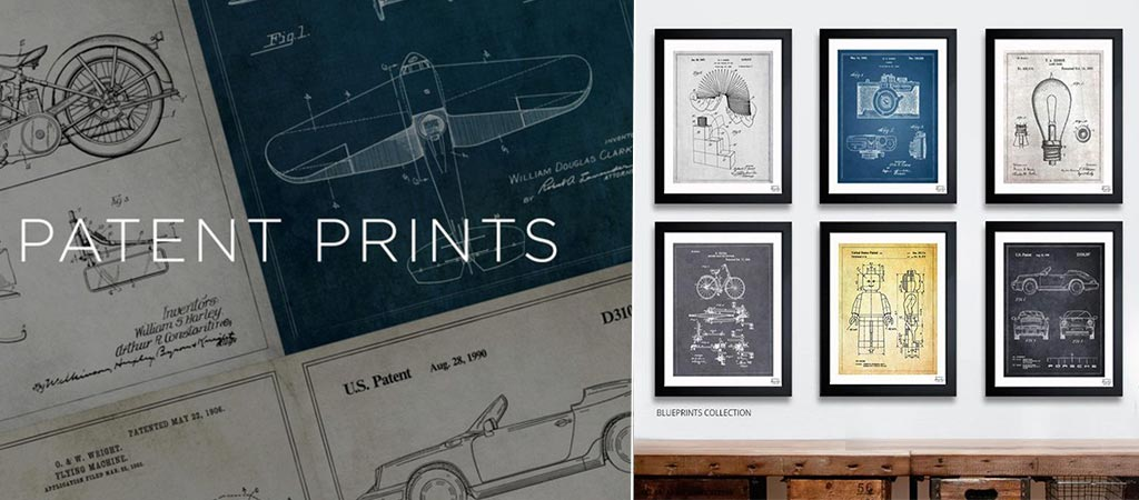 Patent Prints | By Oliver Gal Artist Co.