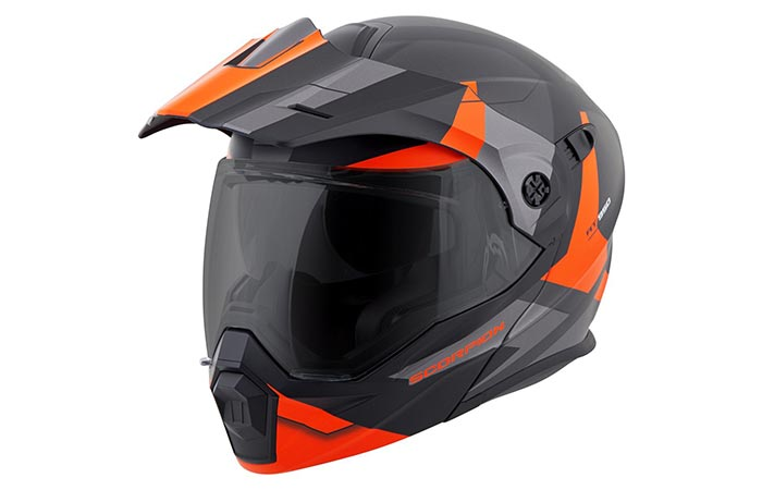 Scorpion EXO-AT950 Motorcycle Helmet orange