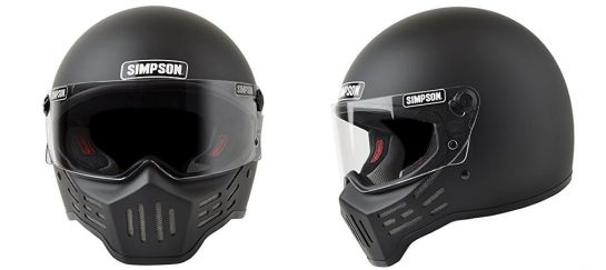 Simpson M30 Bandit | Post-Apocalyptic Styled Motorcycle Helmet