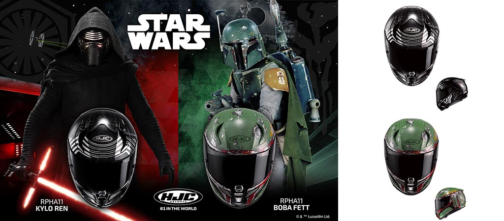 Hjc Rpha 11 >> HJC Star Wars Motorcycle Helmets | Announcement for 2017