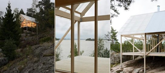 Viggso Cabin Stands On An Island In The Stockholm Archipelago