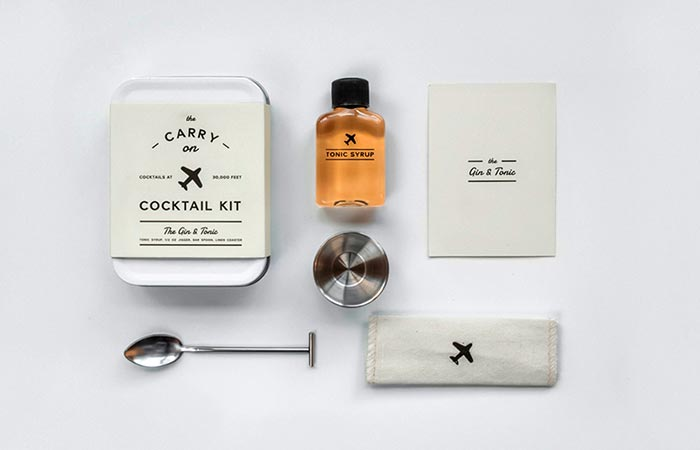 W&P Design Carry-On Cocktail Kits Gin & Tonic