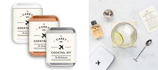 W&P Design Carry-On Cocktail Kits