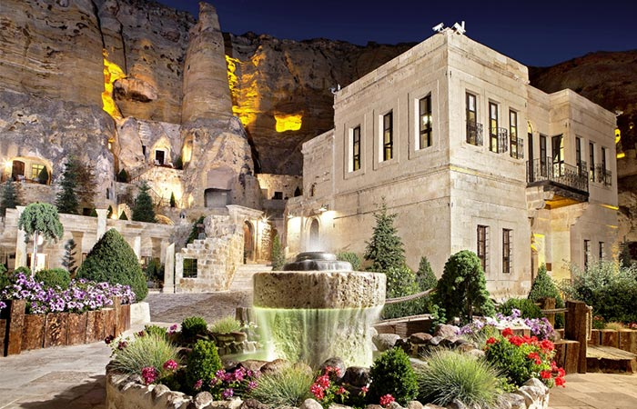 The Exterior Of Yunak Evleri Cappadocia Hotel