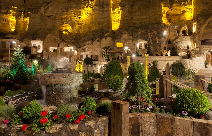 A View On Yunak Evleri Cappadocia Hotel