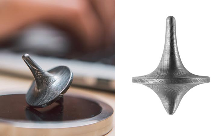 Foreverspin Damascus Spinning top