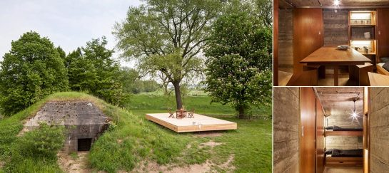 An Abandoned WWII Bunker Transformed Into A Holiday House